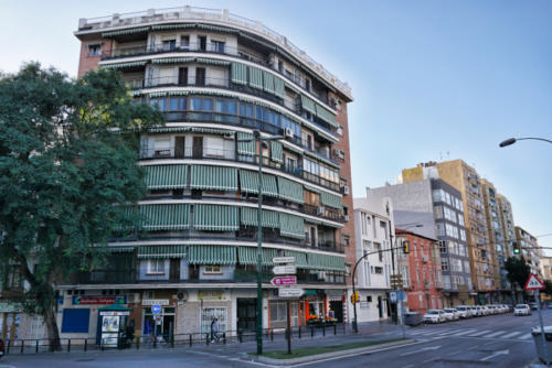 Málaga ve městě